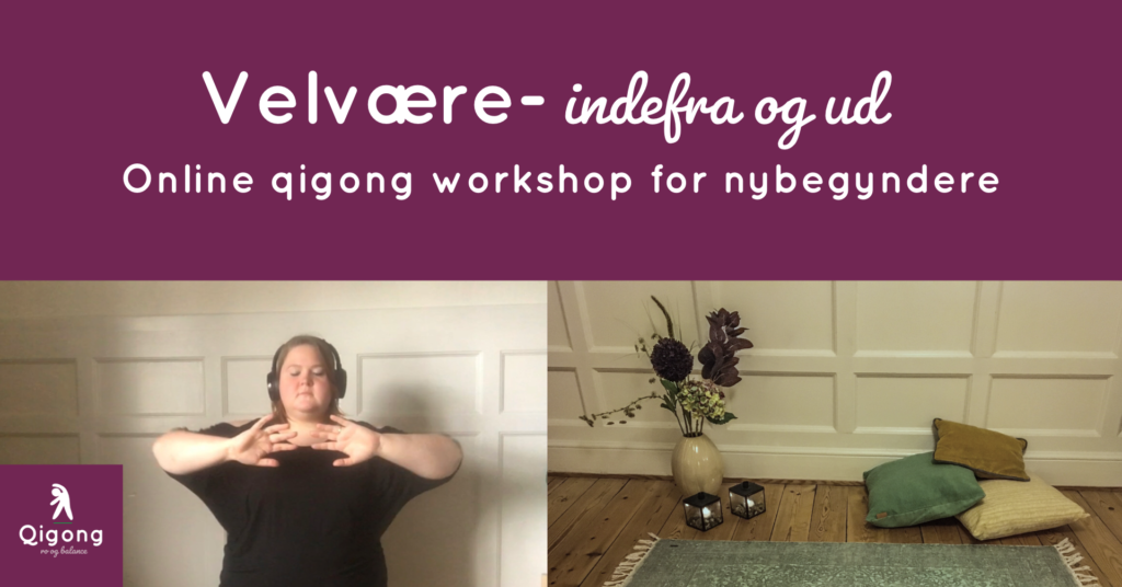 Qigong er nydelsesfuld bevægelse